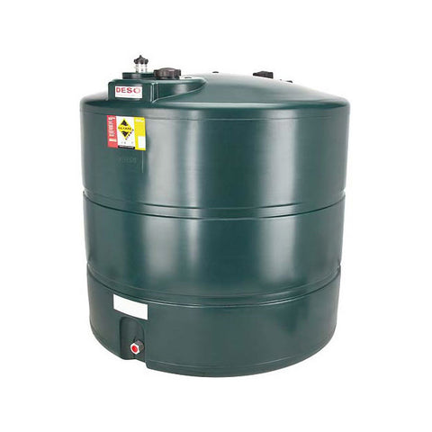 Single Skin Oil Tank 2455 Litre V2455