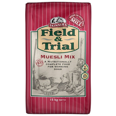 Skinners Field Trial Muesli Mix Working Dog Food 15Kg