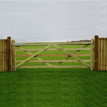 Softwood Field Gate