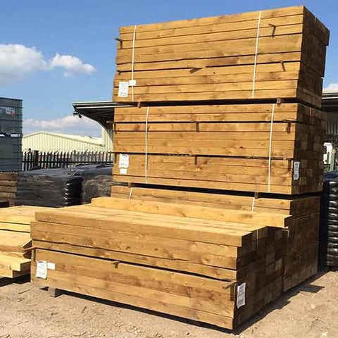 Softwood Treated Railway Sleepers