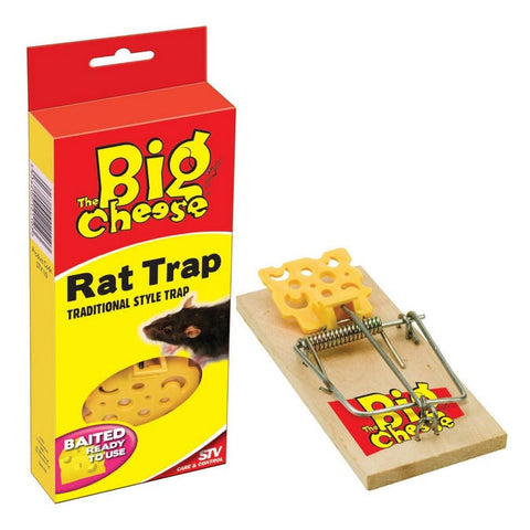 STV Big Cheese Baited Traditional RTU Rat Trap STV110