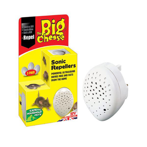 STV Big Cheese Sonic Repellers 3 Pack STV728