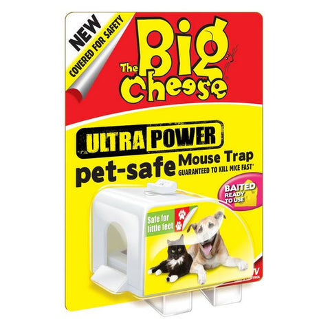 STV Big Cheese Ultra Power Pet Safe Mouse Trap STV151