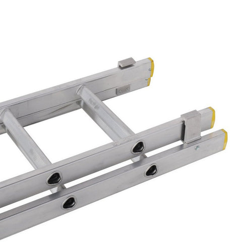 TB Davies Aluminium Double Section Extension Ladder