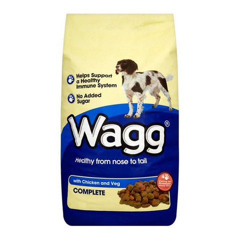 Wagg Complete with Chicken and Veg Dog Food 12Kg