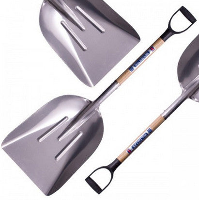 WM Faulks Large Aluminium Grain Shovel