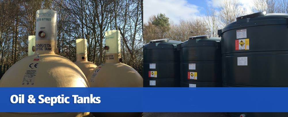 Oil & Septic Tanks Homepage Banner