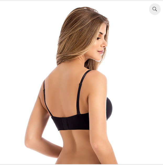 MAGNIFICENT STRAPLESS BRA    3-in-1   Estructura  Powernet  Negro