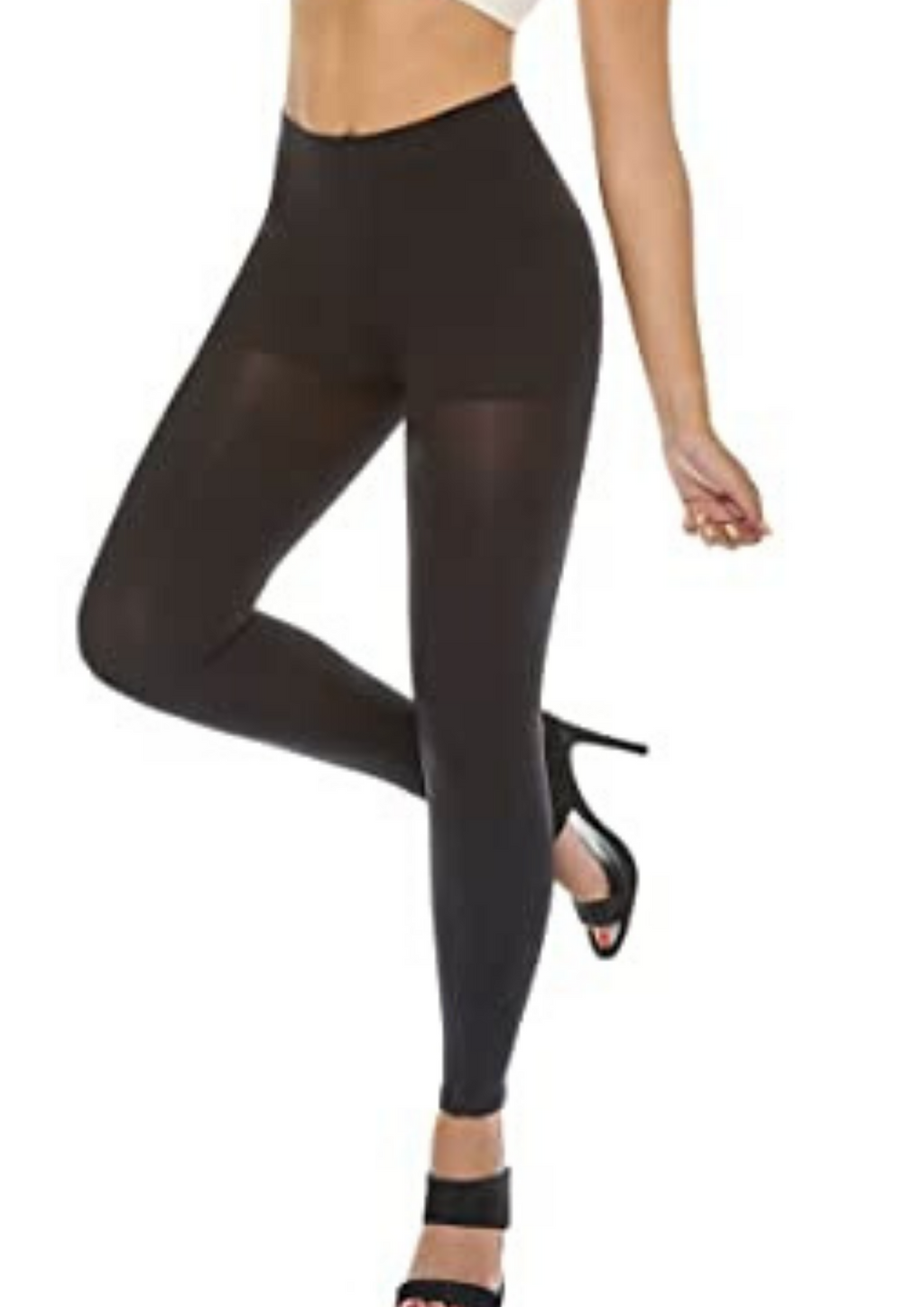 BIO-CRYSTALS SMART LEGGINS Calzas Levanta cola Negra