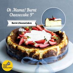 Oh MAMA! Burnt Cheesecake - Cheesecakes - MareMaris Patisserie - - Eat Cake Today - Birthday Cake Delivery - KL/PJ/Malaysia