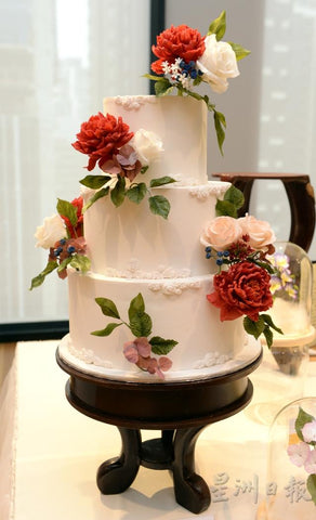 eat cake today-cake delivery-the cake show-cake trends 2020-wedding cake-sugar flower