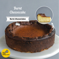 Burnt Cheesecake - Cheesecakes - Ennoble - - Eat Cake Today - Birthday Cake Delivery - KL/PJ/Malaysia