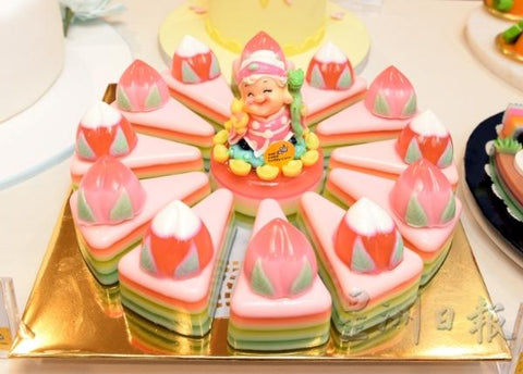 eat cake today-cake delivery-the cake show-cake trends 2020-Cute Grandma Jelly Cake