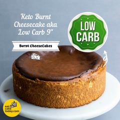 KETO Burnt Cheesecake aka LOW CARB - Cheesecakes - Cake Tella - - Eat Cake Today - Birthday Cake Delivery - KL/PJ/Malaysia