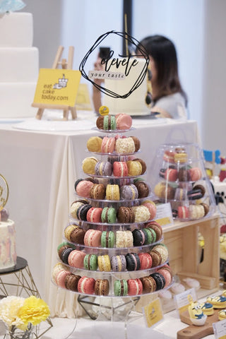 tower of macarons-media event-eat cake today-the cake show