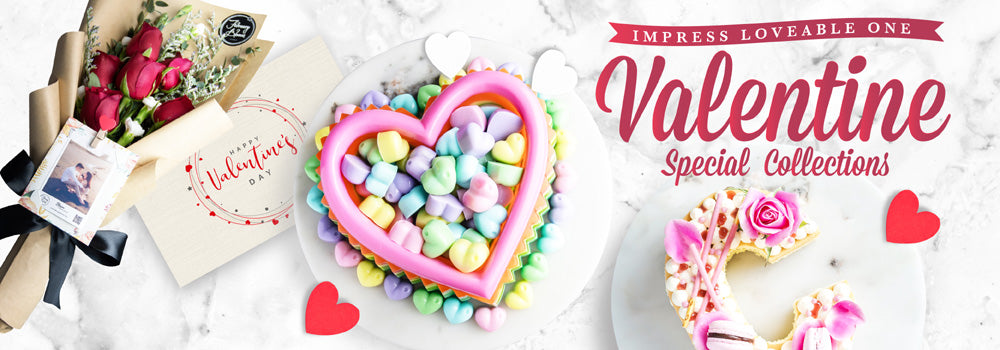 Valentine's Cake & Dessert Collections