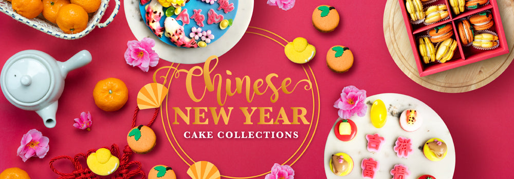 Chinese New Year Cakes & Cookies Collections