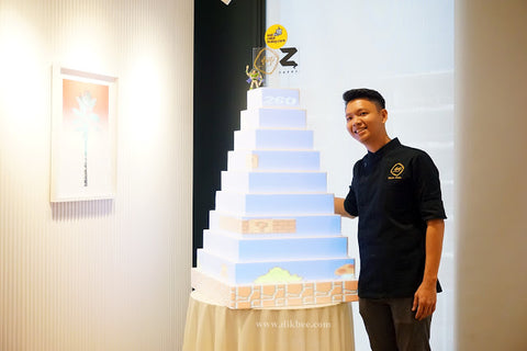 eat cake today-cake delivery-the cake show-cake trends 2020-projection mapping cake