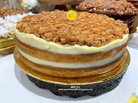 eat cake today-cake delivery-the cake show-cake trends 2020-Salted Caramel Cookie Cake