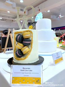 eat cake today-cake delivery-the cake show-cake trends 2020-macarons fault line cake