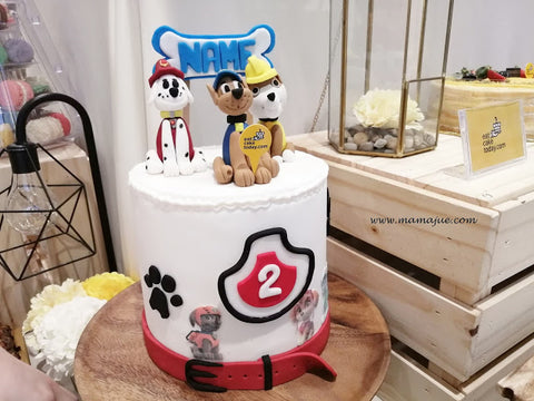 eat cake today-cake delivery-the cake show-cake trends 2020- Paw Patrol Cake