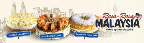 Malaysia National Day Merdeka Cake - Eat Cake Today