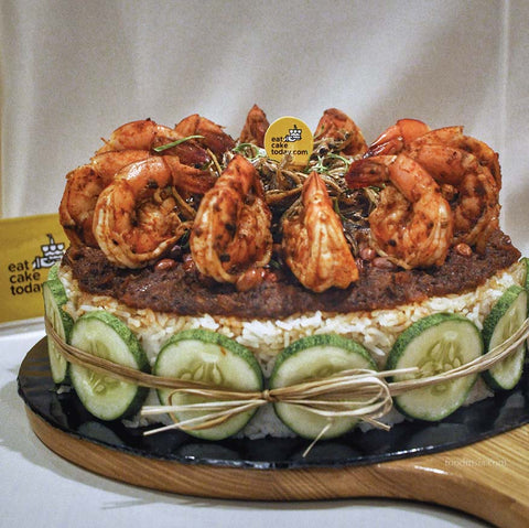 eat cake today-the cake show-cake trends 2020-nasi lemak cake