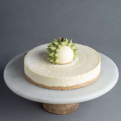 Golden Durian King Cheesecake - Cheesecakes - Purple Monkey - - Eat Cake Today - Birthday Cake Delivery - KL/PJ/Malaysia