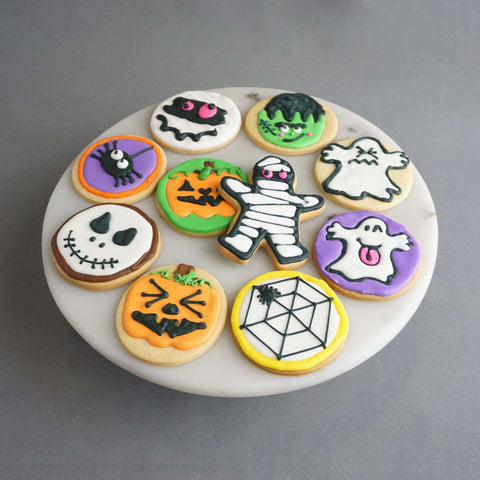 10 pieces of Hallo-Scream Butter Cookie - Cookies - Tedboy Bakery - - Eat Cake Today - Birthday Cake Delivery - KL/PJ/Malaysia