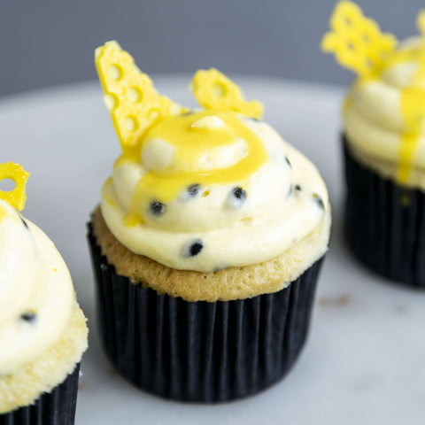 10 pieces of Passionista Cupcakes - Cupcakes - Whipped - - Eat Cake Today - Birthday Cake Delivery - KL/PJ/Malaysia
