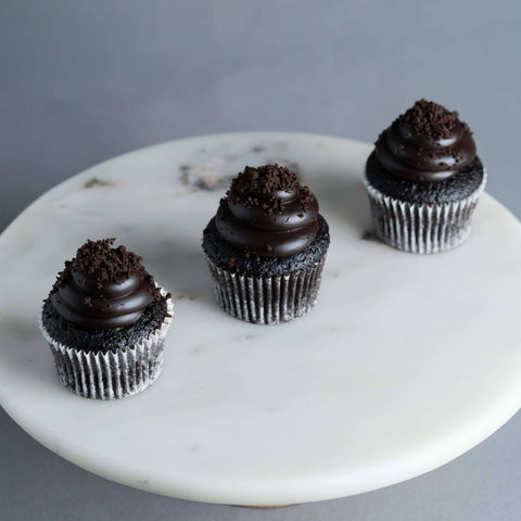 12 pieces of Blackout Cupcakes - Cupcakes - Huckleberry Food & Fare - - - - Eat Cake Today - Birthday Cake Delivery - KL/PJ/Malaysia