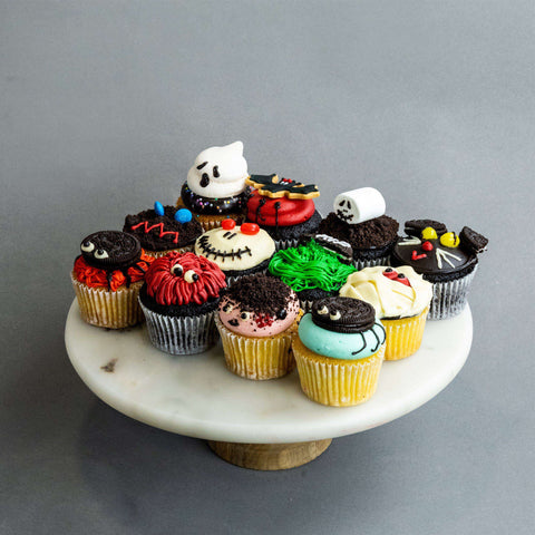 12 pieces of Eerie-sistable Cupcakes - Cupcakes - Huckleberry Food & Fare - - Eat Cake Today - Birthday Cake Delivery - KL/PJ/Malaysia