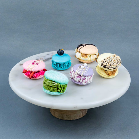 12 Pieces of Korean-style Macaron - Desserts - RE Birth Cake - - Eat Cake Today - Birthday Cake Delivery - KL/PJ/Malaysia