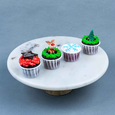 12 Pieces of Merry Christmas Cupcakes - Cupcakes - Tedboy Bakery - - Eat Cake Today - Birthday Cake Delivery - KL/PJ/Malaysia