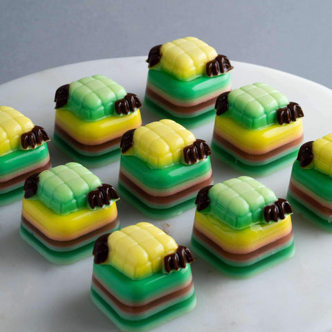 16 pieces Raya Mini Bites - Jelly Cakes - Q Jelly Bakery - - - - Eat Cake Today - Birthday Cake Delivery - KL/PJ/Malaysia