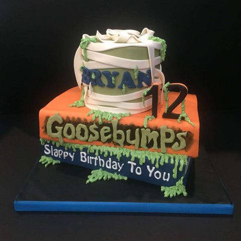 2 tiers Goosebumps Cake - Customized Cakes - B'Sweetbites - - Eat Cake Today - Birthday Cake Delivery - KL/PJ/Malaysia