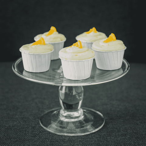 25 pieces of V's Orange Cupcakes (eggless) - Cupcakes - V Slice - - - - Eat Cake Today - Birthday Cake Delivery - KL/PJ/Malaysia