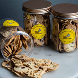 3 Jars of Pistachio Almond Biscotti - Biscotti - Justine's Cakes & Kueh - - Eat Cake Today - Birthday Cake Delivery - KL/PJ/Malaysia