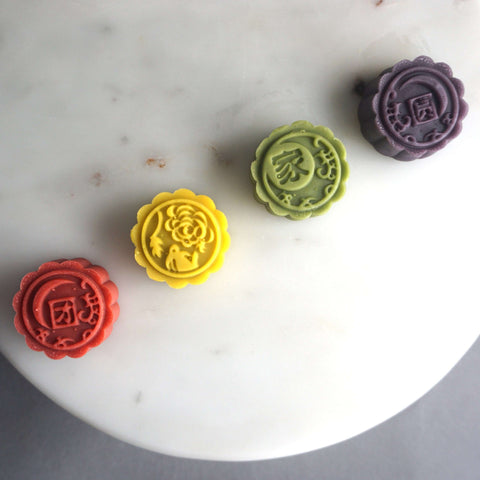 4 Pieces of Momoyama Mooncake - Mooncake - M Cake Boutique - - - - Eat Cake Today - Birthday Cake Delivery - KL/PJ/Malaysia