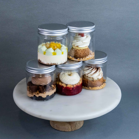 5 Jars of Delectable Jar Desserts - Desserts - Texture by C3 Lab (PO) - - Eat Cake Today - Birthday Cake Delivery - KL/PJ/Malaysia