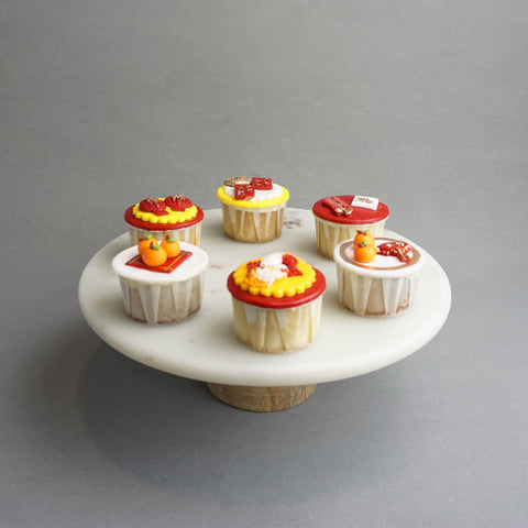6 pieces of Chinese New Year Cupcakes - Cupcakes - The Buttercake Factory - - Eat Cake Today - Birthday Cake Delivery - KL/PJ/Malaysia