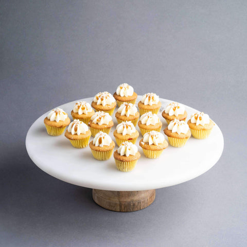 64 pieces of Mini Butterscotch Cupcakes - Cupcakes - The Accidental Bakers - - Eat Cake Today - Birthday Cake Delivery - KL/PJ/Malaysia