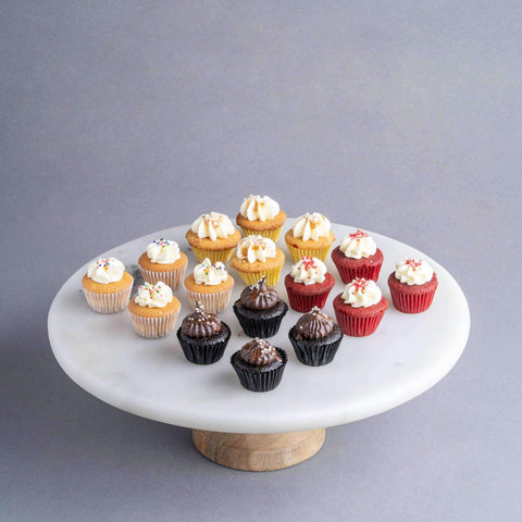 64 pieces of Mini Mixed Flavour Cupcakes - Cupcakes - The Accidental Bakers - - Eat Cake Today - Birthday Cake Delivery - KL/PJ/Malaysia