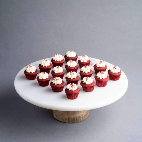 64 pieces of Mini Red Velvet Cupcakes - Cupcakes - The Accidental Bakers - - - - Eat Cake Today - Birthday Cake Delivery - KL/PJ/Malaysia