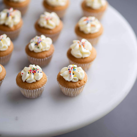 64 pieces of Mini Vanilla Rainbow Cupcakes - Cupcakes - The Accidental Bakers - - - - Eat Cake Today - Birthday Cake Delivery - KL/PJ/Malaysia