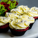 8 Pieces of Be Mine Valentine's Cupcake - Cupcakes - Butter Grail - - Eat Cake Today - Birthday Cake Delivery - KL/PJ/Malaysia
