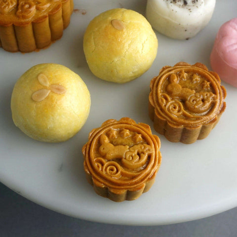 8 pieces of Mix and Match Mini Mooncake - Mooncake - Deux Cake - - - - Eat Cake Today - Birthday Cake Delivery - KL/PJ/Malaysia