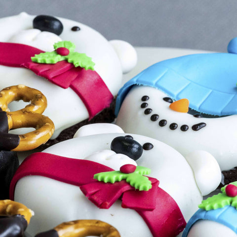 9 pieces of Merry Cake Donut - Butter Cake - Little Collins - - Eat Cake Today - Birthday Cake Delivery - KL/PJ/Malaysia