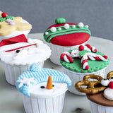 Adorable Christmas Cupcakes - Cupcakes - B'Sweetbites - - Eat Cake Today - Birthday Cake Delivery - KL/PJ/Malaysia