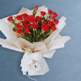 Amour Red Roses Bouquet - Flowers - Grand Floral Art Studio - - Eat Cake Today - Birthday Cake Delivery - KL/PJ/Malaysia